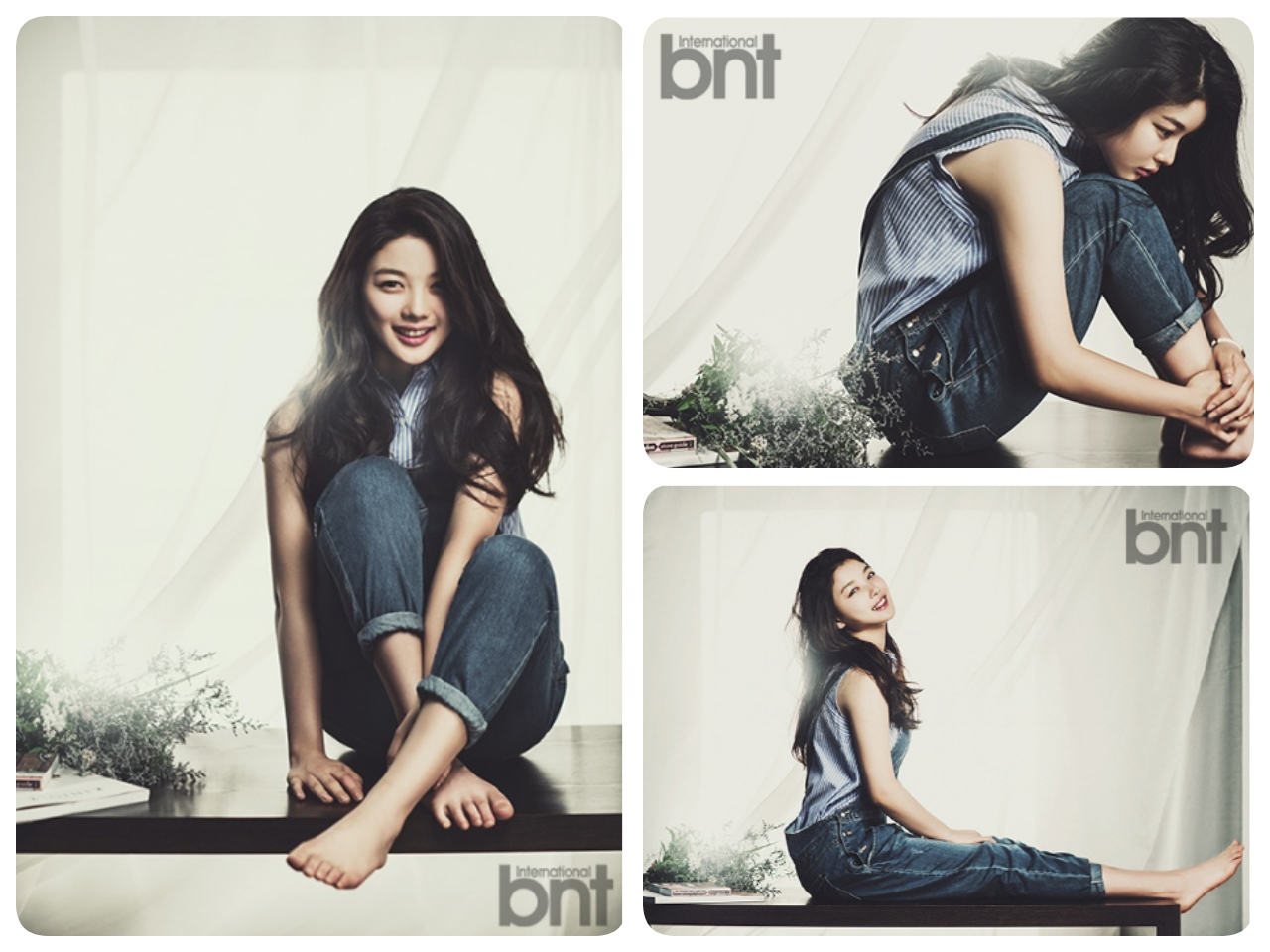 Kim Yoo Jung - bnt International July 201403