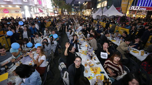 SInchon Beer Festival. Source: www.timeout.com